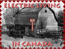 Electric Living in Canada Cover