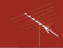 red antenna