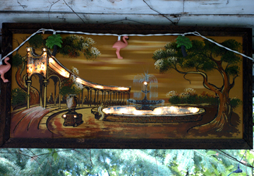 Gazebo Art at Flamingo in Castlegar