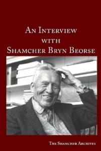 An Interview with Shamcher Beorse