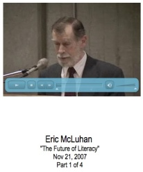 Eric McLuhan Speaks at York