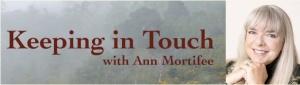 Ann Mortifee Newsletter