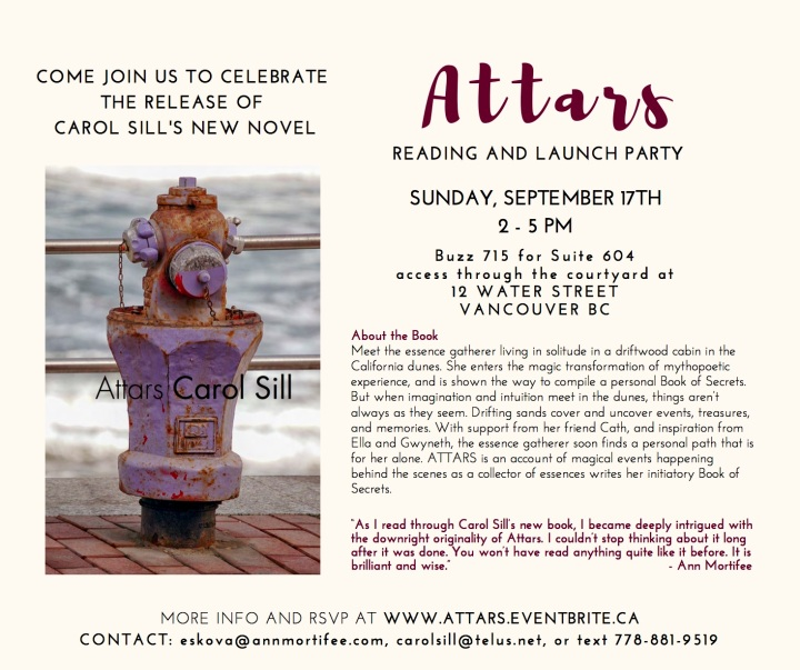 Attars book launch invitation